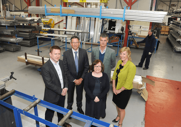 Pictured (left to right): Andrew Kitching (Guthrie Douglas), Mark Ryder (Warwickshire County Council), Louise Richardson (Warwickshire County Council), Neil Stevenson (NEJ Stevenson), Janette Pallas (Business Ready).